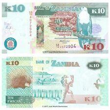 Zambia 10 Kwacha 2012 P-51a Banknotes  UNC