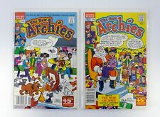 NEW ARCHIES #2,3 Archie Series Comic Book Lot Run of 2 NM-NM+ 1988