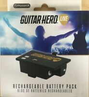 Guitar Hero Live Rechargeable Battery Pack by PowerA 1354226-01 New Sealed