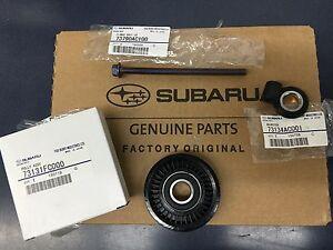 OEM Subaru A/C Pulley Adjuster & Bolt Kit Impreza Legacy Forester Outback WRX !!