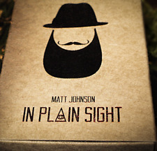 **PRE-SALE** In Plain Sight (Gimmick and Online Instructions) by Matt Johnson