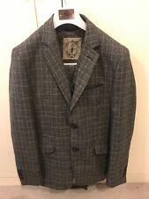 Mens Cavani Tweed 3 Piece Suit Wool Blazer Waistcoat Trousers Short Regular Long