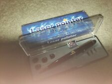 Vintage Laser Pointer Ink Pen with various tips in Box