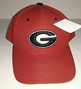 Georgia Bulldogs NCAA Colosseum Red Fitted Hat    Size 7 3/8