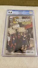 Champions #2 Marvel 2020 CGC 9.8 1:25 Hetrick Variant Miles Morales Kamala Khan!