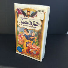 NEW Snow White and the Seven Dwarfs (VHS, 1994) FACTORY SEALED