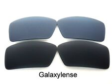 Galaxy Replacement Lenses For Oakley Eyepatch 1&2 Black&Gray Polarized 2Pairs