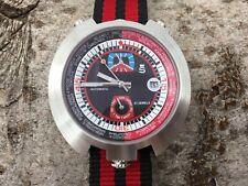Sorna Bullhead NOS-Style automatic watch black version new unworn textile strap