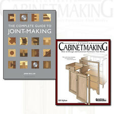 The Complete Guide to Joint-Making Illustrated and Cabinetmaking 2 Books Set NEW