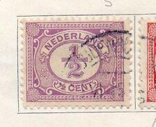 Países Bajos 1898-1919 rápida de los problemas Fine Used 1/2c. 129455