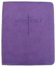 The Word of God: KJVER Sword Bible Purple Ultrasoft (Leather Like) Personal Size