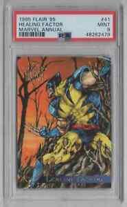 1995 Flair '95 Marvel Annual #41 Healing Factor - PSA 9 MINT - Wolverine