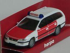Herpa Opel Omega Caravan Feuerwehr Notarzt - 042420
