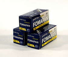 Fomapan 100ASA 120mm Roll Film Pack Of Three