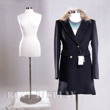 Female Size 10-12 Mannequin Manequin Manikin Dress Form #F10/12W+Bs-04