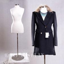 Female Size 10-12 Mannequin Manequin Manikin Dress Form #F10/12W+Bs-04  00004000