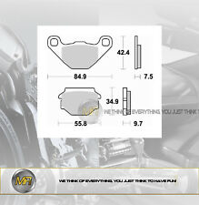 FANTIC MOTOR CABALLERO MOTARD 50 DAL 2006 AL 2009 PASTIGLIE FRENO POSTERIORI BRA