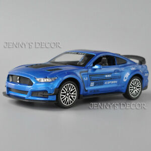 1:32 Scale Diecast Ford Mustang GT500 Model Pull Back Toy Car With Sound & Light