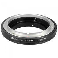 FD-AI Lens Ring Adapter Canon FD lens To All Nikon AI Mount Camera UK Seller