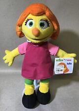 "Gund Sesame Street Julia 14"" Plush - NEW!!"