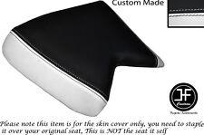 Vinilo Blanco y Negro se ajusta Cagiva Mito Personalizado 125 90-94 frente cubierta de asiento solamente