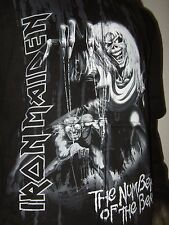 New Men's Large Iron Maiden The Number Of The Beast Metal Band Hoodie Sweater