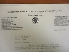 Movie Letterhead Associated First National Pictures Penrod Wesley Barry 6/23/22