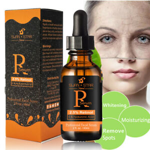 100% Naturals Retinol Serum 2.5% With Hyaluronic Acid Anti Acne Christmas Gift