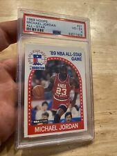 Michael Jordan PSA 4 Hoops All-Star Chicago Bulls INVEST Last Dance 1989 GIFT