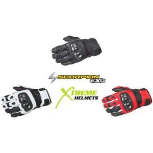 Scorpion SGS MK II Glove Short Cuff Pre-Curved Palm/Finger TouchScreen S-3XL