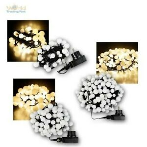 LED Lights For Indoor & Outdoor With Small Balls, Leds Warm White, IP44, 230V