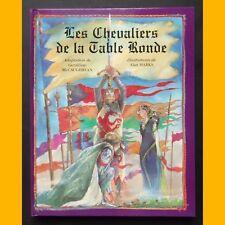LES CHEVALIERS DE LA TABLE RONDE Géraldine McCaughrean Alan Marks 1996