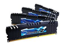 16GB G.Skill DDR3 PC3-17000 RipjawsZ for Intel X79 (9-11-10-28) Quad kit 4x4GB