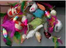 Mice Cat Toy SAMPLER mouse lot of  20