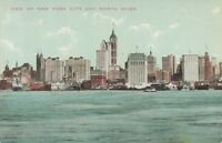 NEW YORK CITY – New York City and North River