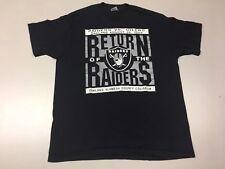 OAKLAND RAIDERS shirt t vintage tshirt 80s 1989 single stitch nfl football 50/50