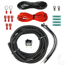 Wiring Kit for State of Charge Meter or Power Outlet for Golf Carts (R)