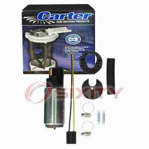 Carter In-Tank Electric Fuel Pump for 1985-1992 Toyota Corolla 1.6L L4 Air bs