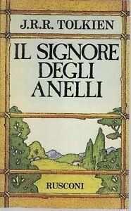 """""""Il Signore degli Anelli"""" di J.R.R. Tolkien (edizione 1980)"""