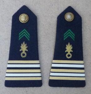 Paire d'épaulettes - Lt Colonel - Légion étrangère -