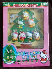 SANRIO HELLO KITTY CHRISTMAS TREE PLAY SET  7 DECORATIONS - NEW IN BOX