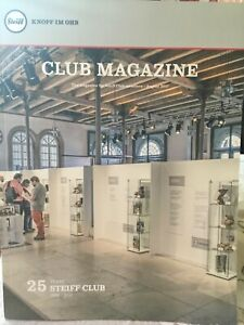 Steiff  New Club Collector Magazine  2017 NEW MAGAZINE WITH  PHOTOS & ARTICLES
