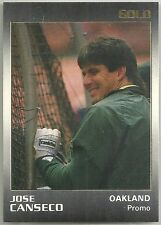 Jose Canseco 1991 Star Gold Series Oakland A's Promo Card (ONLY 300 Made)