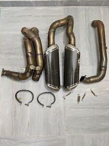 Ducati 848 evo 1098 R 1198 s Termignoni Performance full exhaust carbon
