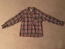 VTG Cali Craft Long Sleeve Button Down Plaid Mod Rare Original 50's 60's Flannel