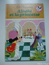 Livre Disney - Club du livre Mickey / Aladin et la princesse