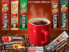 ORIGINAL NESCAFE INSTANT COFFEE 3 IN 1 / 2 IN 1 AND SIMPLE (STICKS)