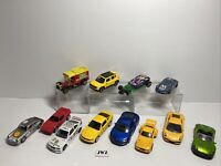 Big DIECAST / PLASTIC CARS - MIXED BRAND BUNDLE - JOB LOT - 2 🔥