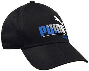 PUMA Kids Graphic Ess Cap Children Hat Baseball Logo Beanie Black Unisex