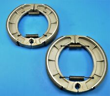 CRU Products Front Brake Shoes compatible with Yamaha Moto 4 85-89 YFM 200 86-88 YFM 225 350